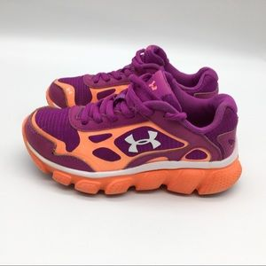 Under Armour Athletic Shoes Girls Size 11K Running